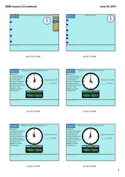 Everyday Math Grade 1 Lesson 2.6