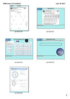 Everyday Math Grade 1 Lesson 2.7