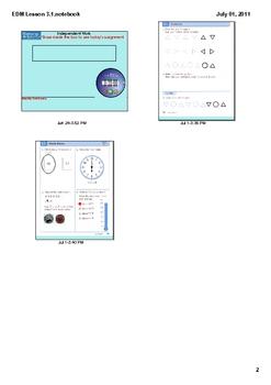 Everyday Math Grade 1 Lesson 3.1