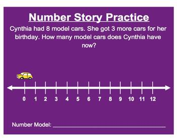 Everyday Math, Grade 1 – Lesson 3.6: Adding and Subtracting on the Number Line