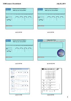 Everyday Math Grade 1 Lesson 3.9