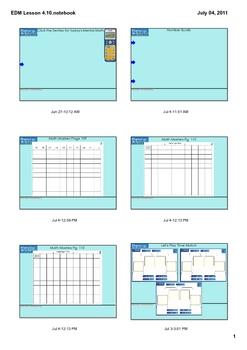 Everyday Math Grade 1 Lesson 4.10