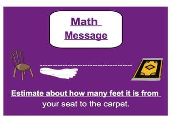 Everyday Math, Grade 1 – Lesson 4.4: The Inch