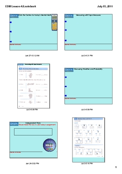 Everyday Math Grade 1 Lesson 4.6