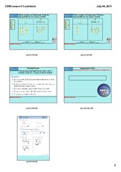 Everyday Math Grade 1 Lesson 5.1