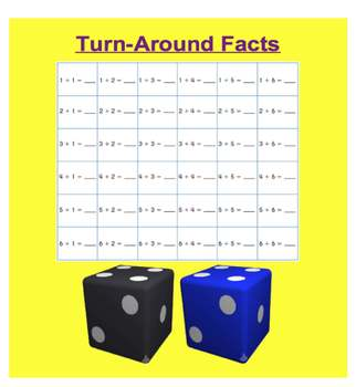 Everyday Math, Grade 1 – Lesson 5.10: Turn-Around Facts