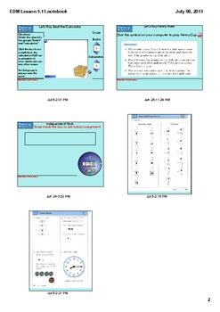 Everyday Math Grade 1 Lesson 5.11