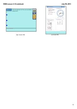 Everyday Math Grade 1 Lesson 5.14