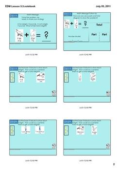 Everyday Math Grade 1 Lesson 5.5