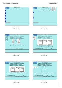 Everyday Math Grade 1 Lesson 5.8