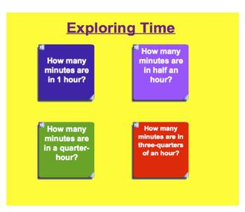 Everyday Math, Grade 1 – Lesson 6.10: Digital Clocks