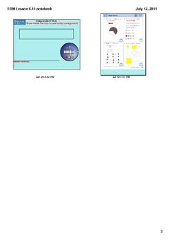 Everyday Math Grade 1 Lesson 6.11