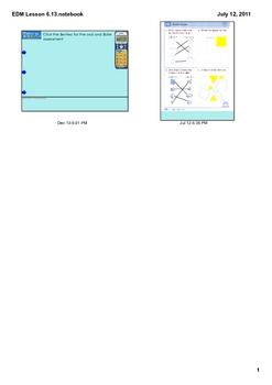 Everyday Math Grade 1 Lesson 6.13