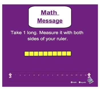 Everyday Math, Grade 1 – Lesson 6.6: The Centimeter
