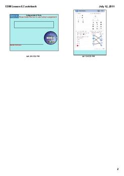Everyday Math Grade 1 Lesson 6.7