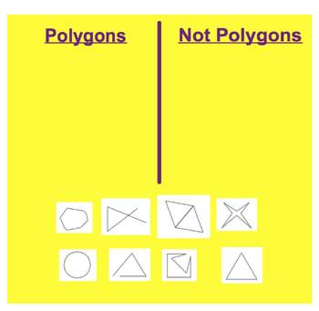 Everyday Math, Grade 1 – Lesson 7.4: Making Polygons