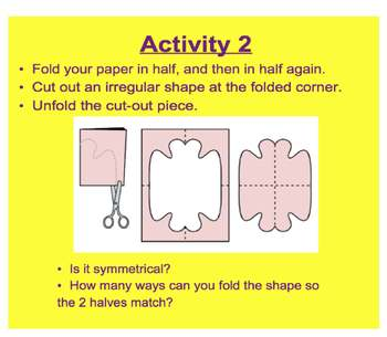 Everyday Math, Grade 1 – Lesson 7.7: Symmetry