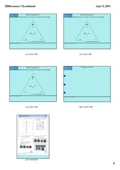 Everyday Math Grade 1 Lesson 7.8