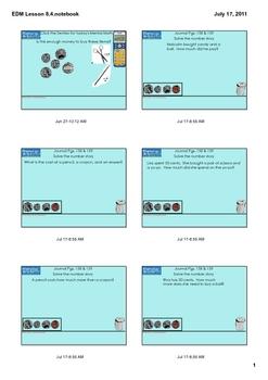 Everyday Math Grade 1 Lesson 8.4