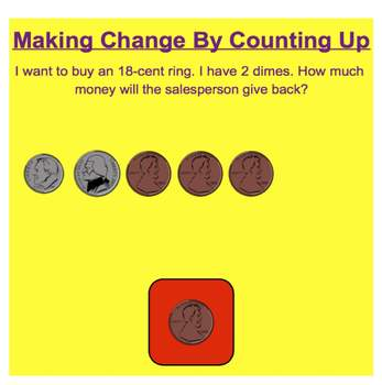 Everyday Math, Grade 1 – Lesson 8.5: Making Change