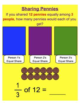 Everyday Math, Grade 1 – Lesson 8.8: Sharing Pennies