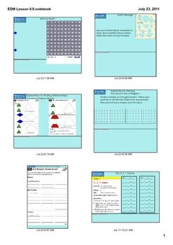 Everyday Math Grade 1 Lesson 8.9