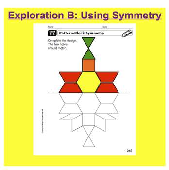 Everyday Math, Grade 1 – Lesson 9.5: Exploring Capacity, Symmetry, and Heights