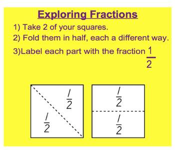 Everyday Math, Grade 1 – Lesson 9.6: Fractional Parts of the Whole