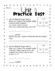 Everyday Math Grade 1 Unit 3 Practice Tests