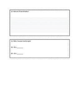 Everyday Math Grade 1 Unit 6 Review