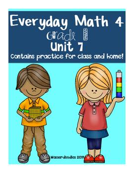 Everyday Math Grade 1 Unit 7 Practice Tests