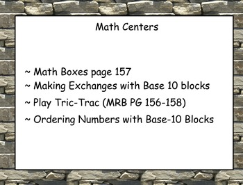 Everyday Math: Grade 1: Unit 8 Mental Math, Money & Fractions Flipchart