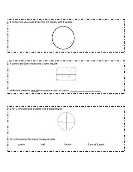 Everyday Math Grade 1 Unit 8 Review (version 2)