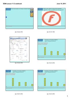 Everyday Math Grade 2 Lesson 11-3