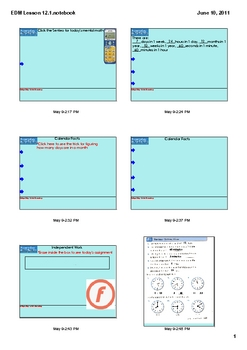 Everyday Math Grade 2 Lesson 12-1