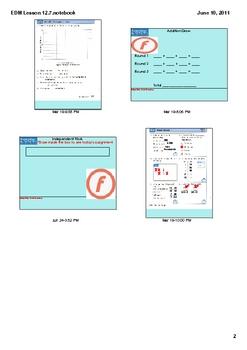Everyday Math Grade 2 Lesson 12-7