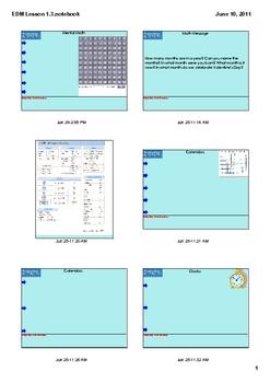 Everyday Math Grade 2 Lesson 1.3