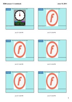 Everyday Math Grade 2 Lesson 1.7