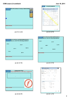 Everyday Math Grade 2 Lesson 2.5