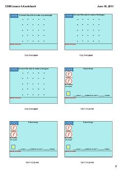 Everyday Math Grade 2 Lesson 5.4