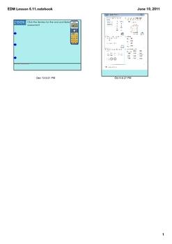 Everyday Math Grade 2 Lesson 6.11