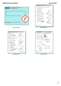 Everyday Math Grade 2 Lesson 6.2