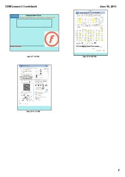 Everyday Math Grade 2 Lesson 7.1