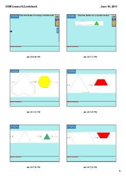 Everyday Math Grade 2 Lesson 8.2