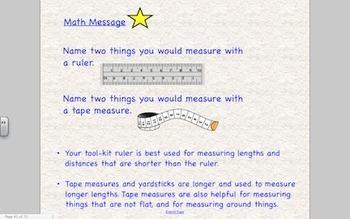 Everyday Math 2nd Grade SmartBoard Lessons Unit 4