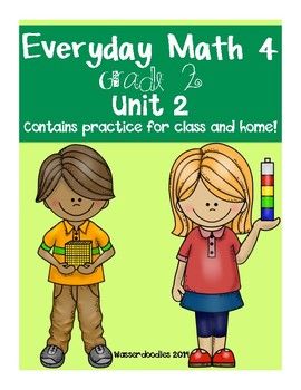 Everyday Math Grade 2 Unit 2 Practice Test