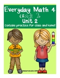 Everyday Math Grade 2 Unit 2 Practice Test