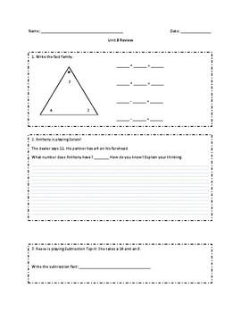 Everyday Math Grade 2 Unit 3 Review