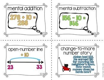 Everyday Math: Grade 2-Unit 5 {Vocabulary Word Wall}
