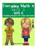 Everyday Math Grade 2 Unit 6 Practice Test
